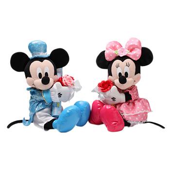 ミッキーマウス(ブーケ)&ミニーマウス(ブーケ)